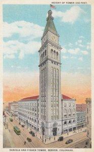 DENVER , Colorado , 1910s ; Daniels & Fisher Tower