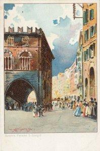 AS: GENOVA, Italy, 1900-10s; Palazzo S. Giorgid