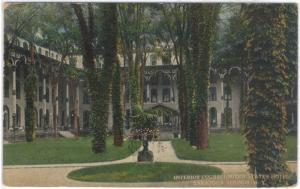 N.Y. - Saratoga Springs - United States Hotel - Inner Court