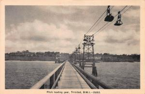 Pitch Loading Gear, Trinidad, British West Indies, Early Postcard, Unused