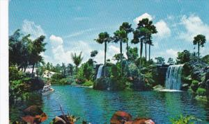 Bahama Freeport Waterfalls At Garden Of The Groves