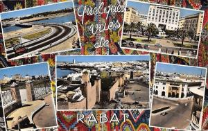 Morocco Souvenir de Rabat, Maroc, multiviews, vues