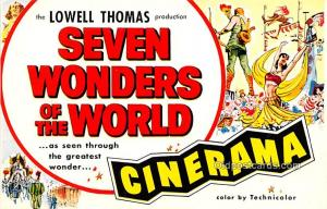 Lowell Thomas, Seven Wonders of the World, Cinerama Movie Star Actor Actress ...