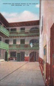 Louisiana New Orleans Courtyard And Prison Rooms In The Cabildo