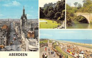 Scotland Aberdeen different aspects, Union Terrace Gardens, Union Street 1977