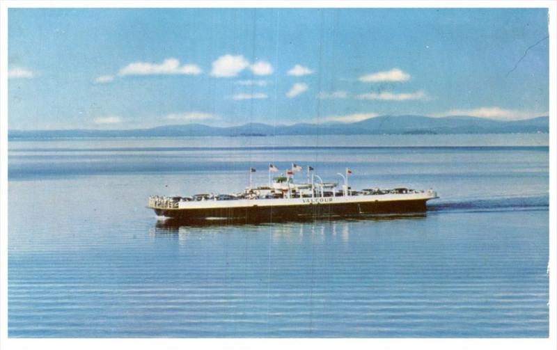 M.V. Valcour Ferry