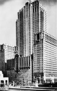 Chicago Illinois~Civic Opera House~1950s RPPC Real Photo Postcard