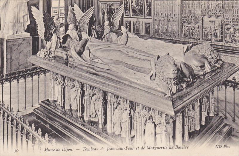 Tombeau De Jean-Sans-Peur Et De Marguerite De Baviere, Musee De DIJON (Côte-...