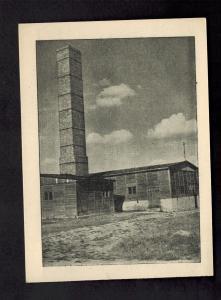 Mint 1955 Majdanek Poland Concentration Camp Museum Postcard Crematorium KZ