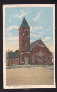 MORRISTOWN TENNESSEE MTHODIST EPISCOPAL CHURCH VINTAGE POSTCARD