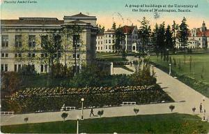 D/B View of Some Buildings, University of Washington Seattle