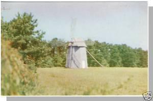 West Harwich, Massachusetts/Mass/MA Postcard, Old Mill, Cape Cod