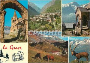 Modern Postcard La Grave La Meije Hautes Alpes