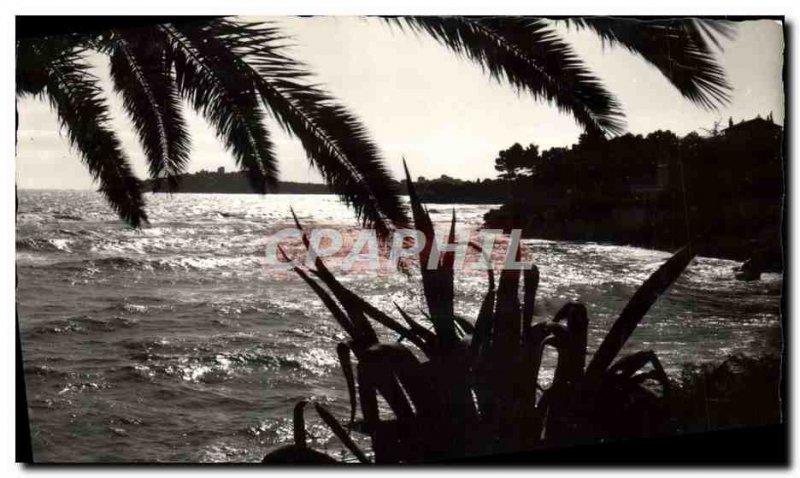 Modern Postcard Beaulieu Sur Mer Sunset on Cap Ferrat and the promenade Mauri...