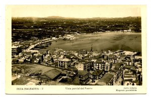 Spain - Ibiza. Partial View of the Port   *RPPC