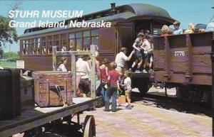 Nebraska Grand Island Stuhr Museum Of The Prairie Pioneer Steam Train