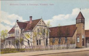 WOLSELEY , Saskatchewan , Canada , 1900-10s ; Methodist Church & Parsonage