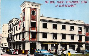Haiti Post card Old Vintage Antique Postcard The Most Famous Department Store...