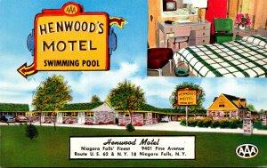 New York Niagara Falls Henwood's Motel