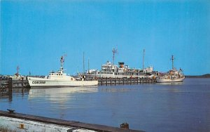 United States Coast Guard Cutter Unimak Cape May, New Jersey Postcard