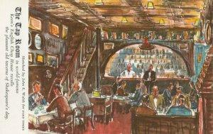 NEW YORK CITY , 1940-60s ; Keene's English Chop House