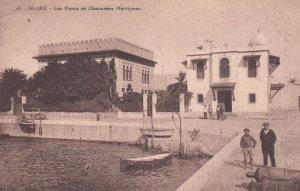 ALGER , 1900-10s ; Les Ponts et Chaussees Maritimes