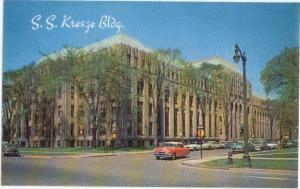 Home Office of S.S. Kresge Company Detroit Michigan MI