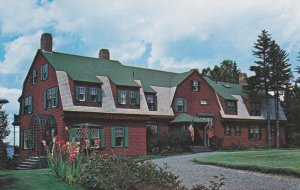 CAMPOBELLO ISLAND , New Brunswick, Canada, 50-60s; FDR Cottage at Welchpool