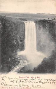 South Africa Howick Falls, 364 ft. high waterfall KwaZulu-Natal 1906