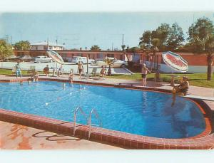 Pre-1980 OLD CARS & MAYFAIR MOTEL Daytona Beach Florida FL s9982