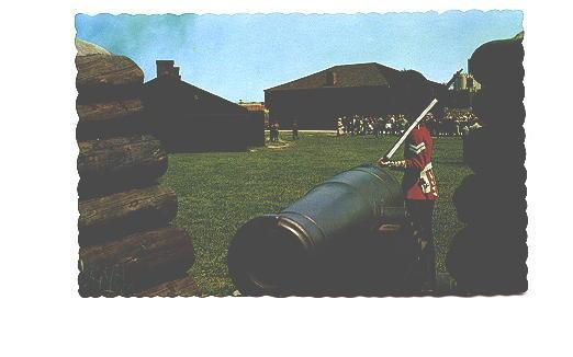 Royal Regiment of Canada, Cannon, Soldier, Fort York, Toronto, Ontario