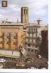 Postal 045901 : Barcelona. Pla de la Boqueria Postales Escudo de Oro Comercia...