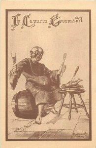 Restaurant du Capucin Gourmand Nancy France Rene Deparday anti-clerical monk