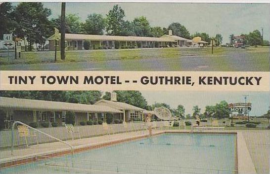 Kentucky Guthrie Tiny Town Motel