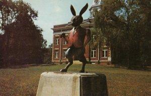 EATONTON, Georgia, 1940-60s; Statue of Brier Rabbit, Town Square