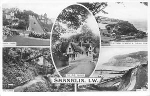 Shanklin Isle of Wight The Old Village The Chine Luccombe Common East Cliff
