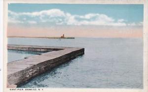 New York Oswego East Pier