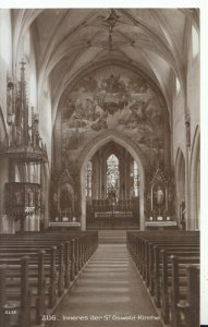 Switzerland Postcard - Zug - Inneres Der St Oswald-Kirche - Ref TZ6101