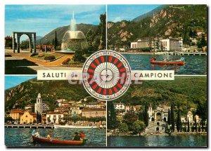 Postcard Modern Saluti di Campione