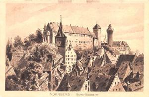 Nurnberg Germany Burg Sudseite Nurnberg Burg Sudseite