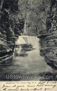 Whispering Falls Havana Glen NY 1907