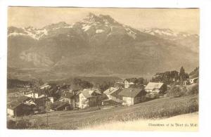 Chesieres Et La Dent Du Midi, France, 1900-1910s