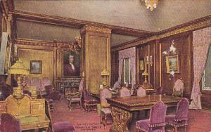 Illinois Chicago The Writing Room Hotel La Salle 1910