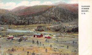 Elkhorn Ridge South Dakota~Summer Resort~Lodge~Buildings~Farm~Trails~1912 PC