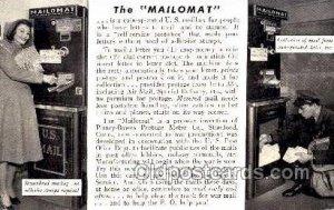 Mailman, Postal Carrier, Postcard Postcards 1944