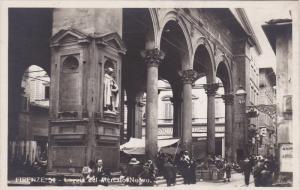 RP: FIRENZE (Florence) , Italy , 00-10s ; Loggia del Mercato Nuovo