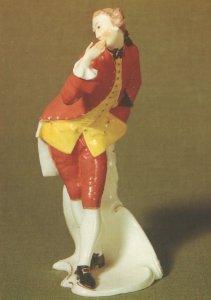 Octavio FA Bustelli China Antique Porcelain Figurine Postcard