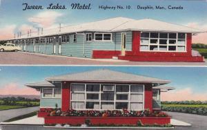 ´Tween Lakes Motel , Dauphin , Manitoba , Canada , PU-1960