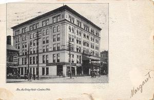 Canton OH Savings & Trust Bank~Patent Medicines @ Drug Store~McKinley Hotel 1909