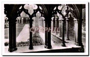 Old Postcard Treguier detail Cloitre